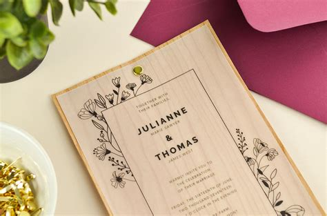 4 ways to diy vellum wedding invitations cards