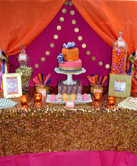 moroccan themed decorations partylicious moroccan dessert table