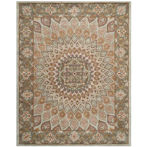 9 Ft Rugs by Safavieh Nantucket Blue Multi 9 Ft X 12 Ft Area Rug