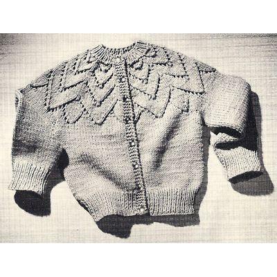 jiffy knit sweater pattern girls jiffy knitted petal cardigan sweater pdf pattern