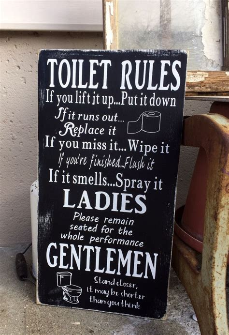 best 25 bathroom ideas on signs for