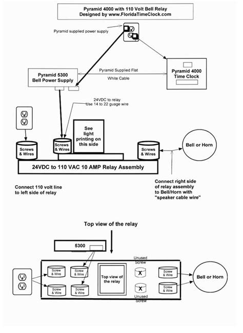 clock wiring diagram time intermatic t103tc intermatic