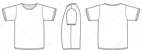 T Shirt Design Vorlage grundlegende unisex t shirt vorlage vektor illustration