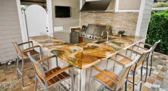 Outdoor Kitchen Countertop Ideas by Outdoor Kitchen Countertops Orlando Adp Surfaces