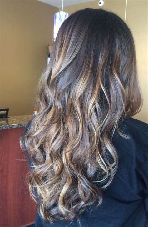 hair color ideas for long length hairstyles 2017 styles
