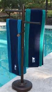 outdoor towel holder outdoor spa and pool towel rack