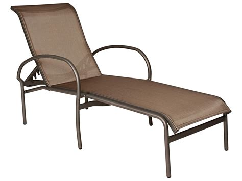 chaise lounge sling replacement woodard rivington sling aluminum stackable chaise lounge
