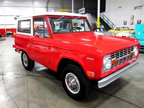 restored  ford bronco  sale