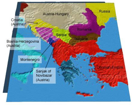 ottoman empire balkans causes of world war one the balkans 3dhistory
