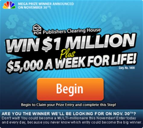 Win A Million Dollars Instantly - need money enter to win the mega prize today pch blog