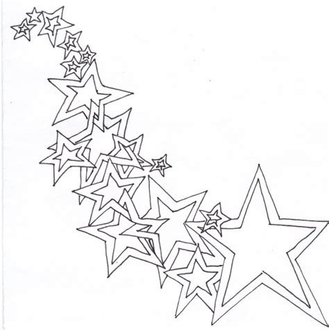 star outline tattoo outline by genn521 on deviantart