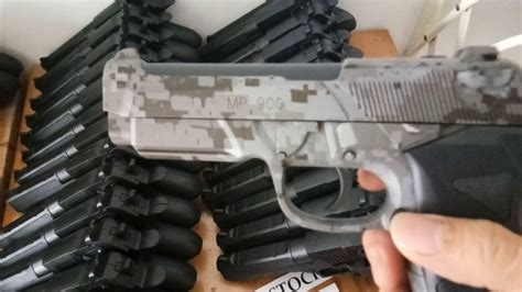 review pistol mainan anak berreta mp900 tactical motif us army camouflage