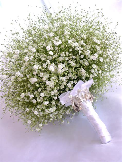 Wedding Bouquet Baby S Breath by Babys Breath Bouquet Wedding Blossoms