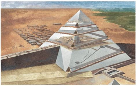 interno piramide di cheope piramidi