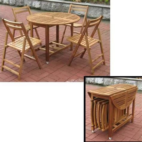wooden patio table and chairs wooden folding table and chairs marceladick