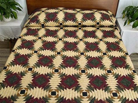 Pineapple Patchwork Pattern - pineapple quilt gorgeous ably made amish quilts from