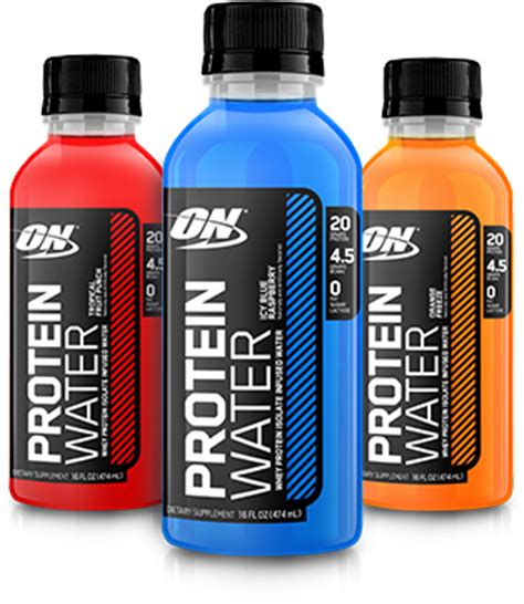 protein 20 infused water optimum nutrition protein water at bodybuilding best