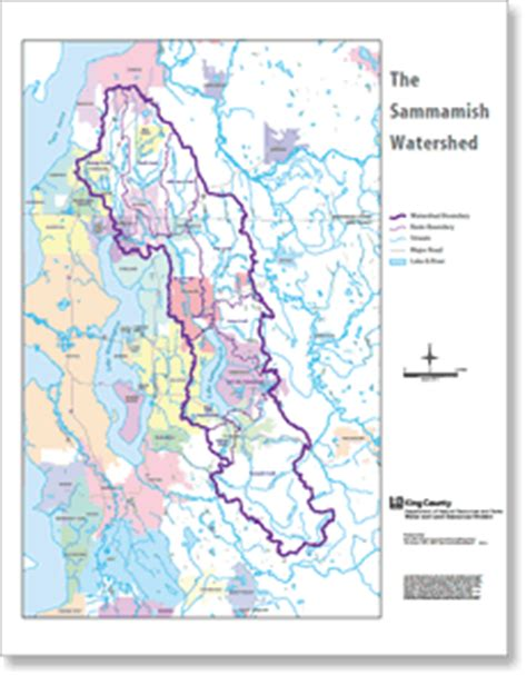 King County Number Search Sammamish Watershed King County