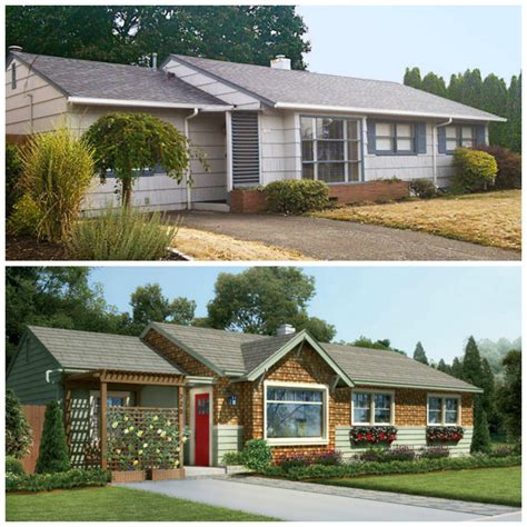 1950s ranch remodel before and after stupefy best 25 house