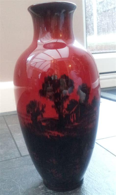 Royal Doulton Vases by Antiques Atlas Royal Doulton Flambe Vase Signed Noke