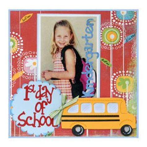 Scrapbook Theme Book Of Firsts by Best 25 School Scrapbook Layouts Ideas On