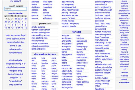 craigslist com six alternatives to craigslist you should know about