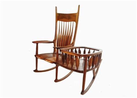 rocking chair cradle hybrid cradle rocker finewoodworking