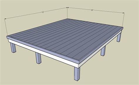 10x12 Deck Plans Newsonair.org