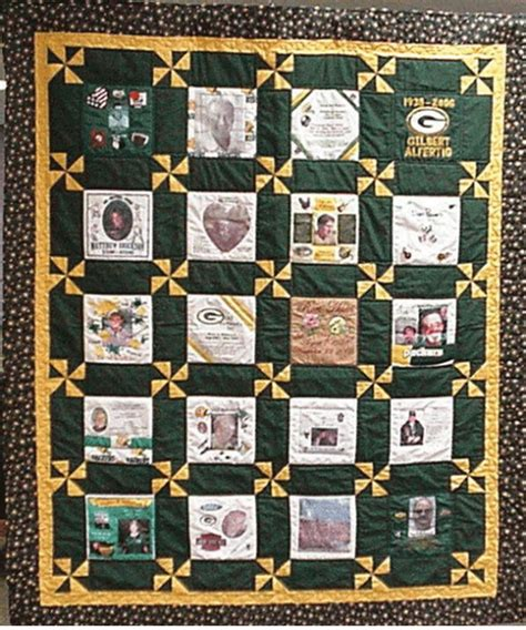 Wallis Has A Go At The Quilted Bay Bag by Patch Green Bay Packers Quilt Great Quilt Would To