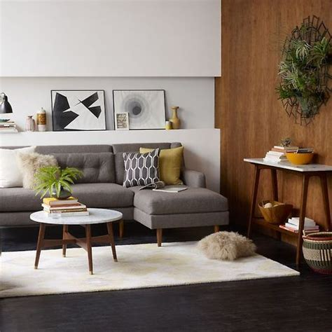 grey sofa white walls magnificent mid century modern for your home grey