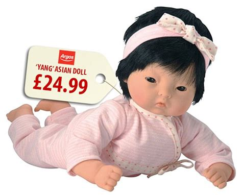 argos selling black  asian dolls