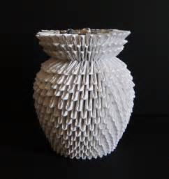 3d origami vase by sabrinayen on deviantart