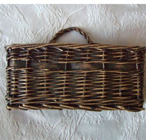 bathroom wall baskets solution for downstairs bathroom wicker 9 quot x5 5 quot wall