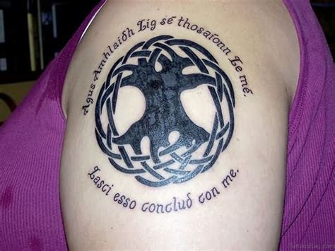 gaelic tattoo 51 classic tree tattoos for shoulder