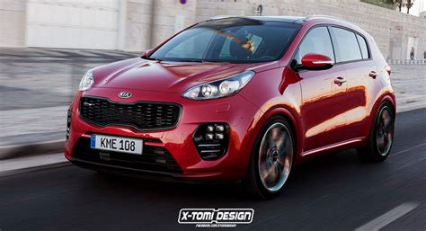 Kia Sportage Designer Kia Sportage Gt Rendering Is The Crossover Of Our