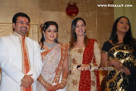 Bhavana at Kavya Madhavan Wedding Reception Photos  3