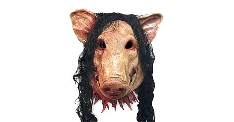 wigged pig mask   drunkmall