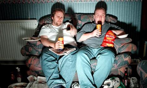 couch potato free tv does watching tv make you fat news the guardian