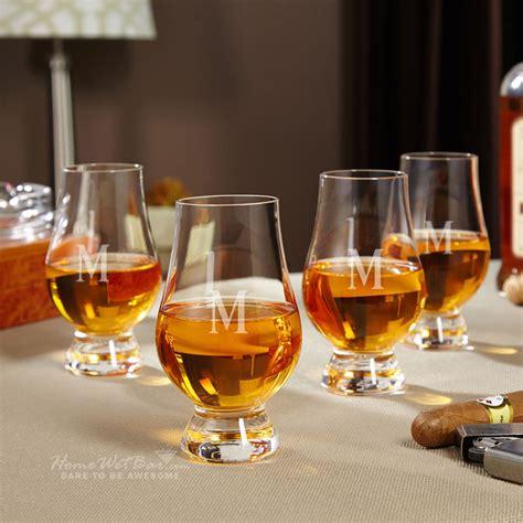 whiskey glass glencairn whiskey glasses set of 4 personalized whiskey