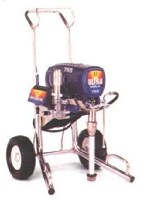 spray painter rental paint sprayer rental elec 1 25 gpm graco ultra max 795