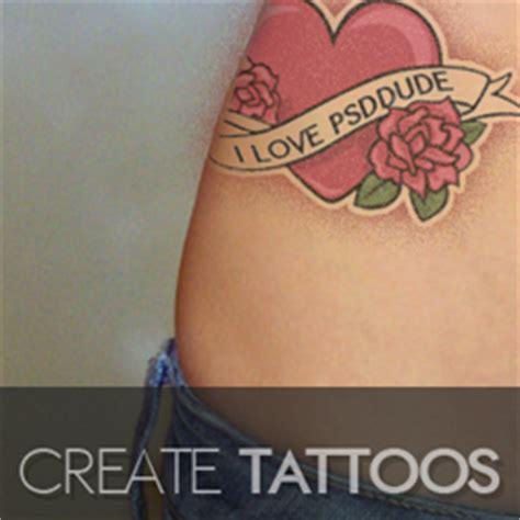 tutorial photoshop tattoo create a tattoo in photoshop photoshop tutorial psddude