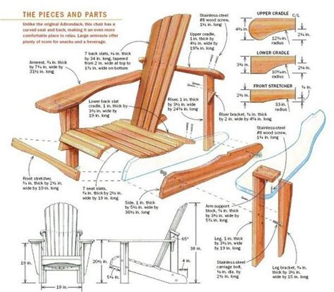 Folding Adirondack Chair Plans by Folding Adirondack Chairs Plans For The Home