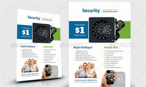 21 Nice Flyer Templates For Security Company Desiznworld Security Company Flyer Template