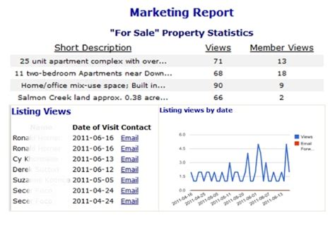 marketing caign report template marketing report sle pdf 28 images 28 real estate