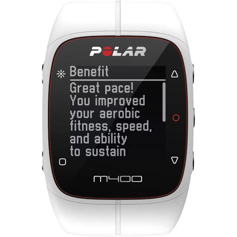 polar m400 sports with gps rate 90051345 b h