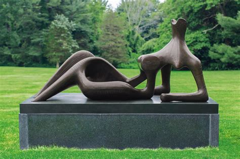 reclining figure 1951 apnewsbreak rare henry moore could fetch 29m at auction