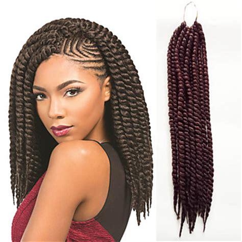havana cuban hair styles dark auburn havana twist braids hair extensions 12inch