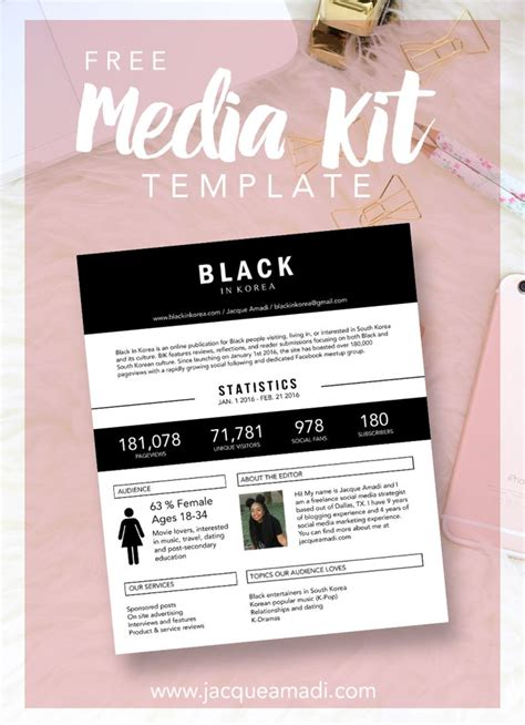 free will kit template 32 best media kit design exles images on