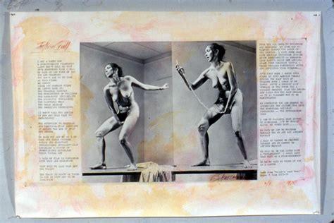 vagina interior imaging her erotics carolee schneemann the brooklyn rail