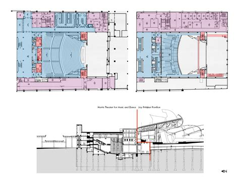 chicago theater floor plan design excellence awards american institute of architects
